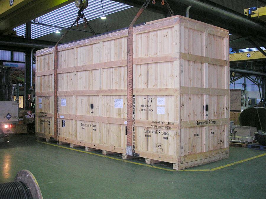 Jedsa embalaje industrial de madera